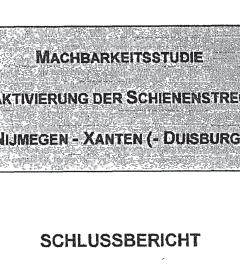 Haalbaarheidsonderzoek Röhr – AGV 1997