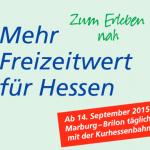 Opening Korbach – Frankenberg: Meer dagtrips voor Hessen