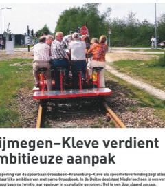 Nijmegen-Kleve verdient ambitieuze aanpak